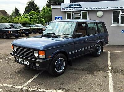Land Rover Range Rover Classic 4.2 Auto Vogue LSE 24k MILES FROM NEW