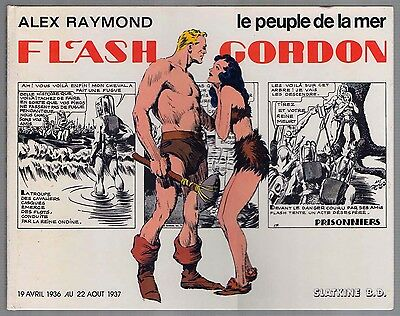 Flash Gordon - Alex Raymond - Le peuple de la mer - Slatkine, E 1980