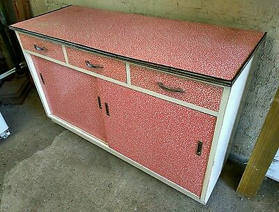 Vintage Retro 60s Triple Kitchen base unit
