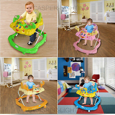 Baby Walker Activity First Steps Musical Toy Learning Children Walking Tool Gift