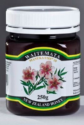 Waitemata Manuka Honey UMF 20+ 250g