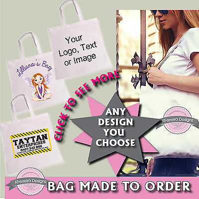 Custom Business Promotional Library Kids Shopping Tote Bag