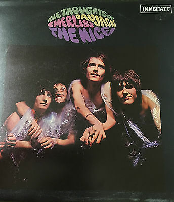 NICE - Thoughts Of Emerlist Davjack 1967 UK IMMEDIATE LP FREE P&P PSYCHEDELIC