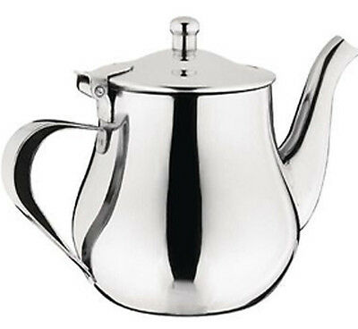 32oz STAINLESS STEEL FINE QUALITY TEAPOT INFUSER COFFEE KETTLE TEA POT NEW
