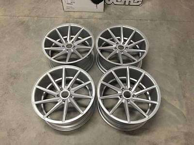 """20"""" Staggered OEMS CVT Directional Wheels - Silver - VW / Audi / Mercedes 5x112"""