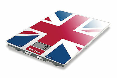 Salter Electronic Digital Best of British Union Flag Kitchen Scales 1100UJDR