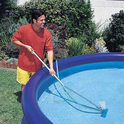 Pool Maintenance Kit for Inflatable Pools, Handy Pool Vacuum and Scoop In 1 Kit