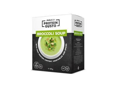 BioTech USA Protein Gusto Broccoli Soup (7x 30g) Protein Suppe