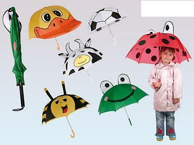 Childrens Kids Funky Animal Styled Brolly / Umbrella