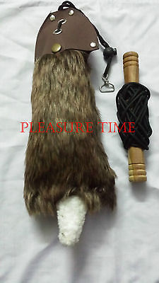 New Falconry Rabbit Lure with Creance and Line Unique Fur PT-777