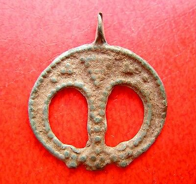 Ancient Viking Bronze Pendant -Kievan Rus.