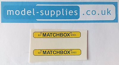 Matchbox 5B/C London Bus Buy Matchbox Series Reproduction Waterslide Transfers