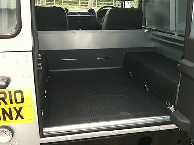 Genuine Land Rover - Defender 90 Rubber Boot Load Space Mat - STC4629