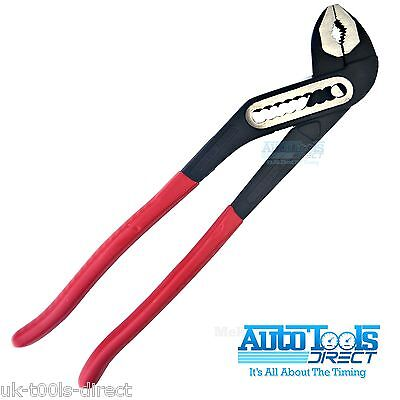 "Waterpump Plier 10""- 250mm Plumbers Pipe Wrench Grips Slim Jaw Pump"