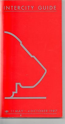 Intercity  Timetable Guide 1987