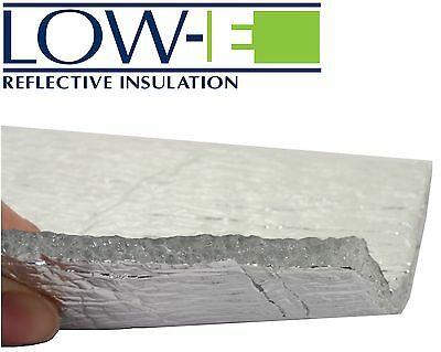 Low-E® Reflective Foil Eco Insulation - Thermal, Moisture, Sound, Draught Proof