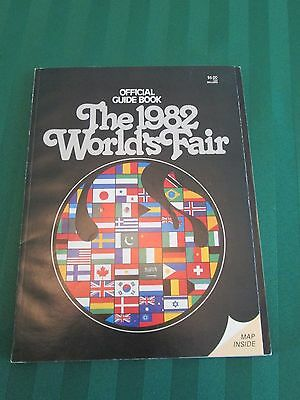 Official 1982 World's Fair Guide Book, Nice!