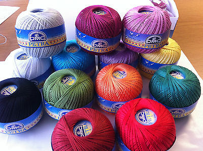 DMC Petra size 5 Cotton Perle 100g ball for crochet, knitting, tatting or crafts