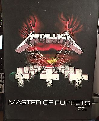 Metallica Large Master Of Puppets Jacket Patch