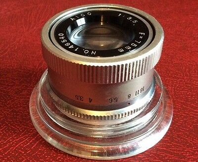 Enlarger lens 75mm