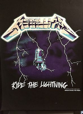"Metallica Large ""Ride The Lightning"" Patch"