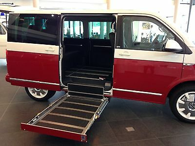 AMF BRUN wheelchair tail lift taillift tailift disabled mobility van loading