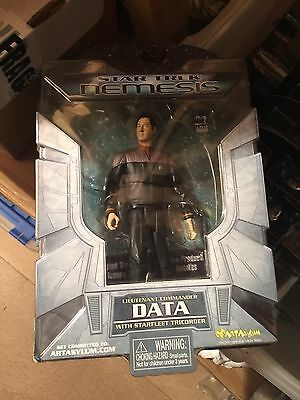 Star Trek Nemesis Lieutenant Commander Data Action figure