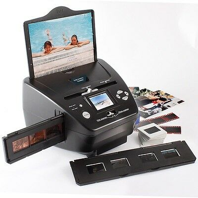 Slide and Photo Scanner (Black and White, Colour, 35mm Slides and Negatives)