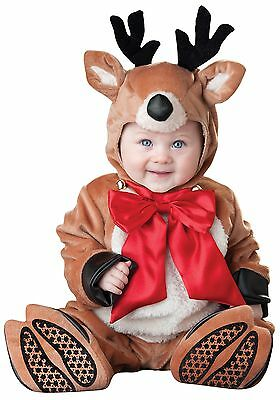 Baby Luxury Toddler Silly Reindeer Fancy Dress Christmas Costume 0-24 Months