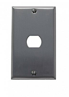 Switchplate Brushed Stainless Steel 1 Interchang/Despard | Renovators Supply