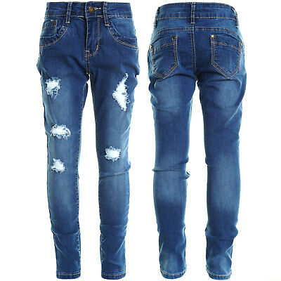 Mädchen Kinder Girls Jeans Hose Röhre Super Skinny Fit Stretch Jeggings 20800