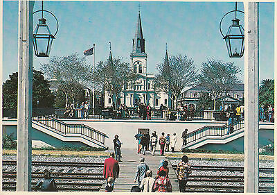 St Louis Cathedral At Jackson Square, New Orleans