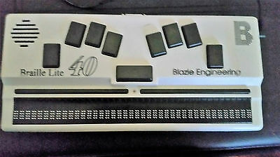 Braille Lite40  Display for blind and visually impaired (read your PC in braille