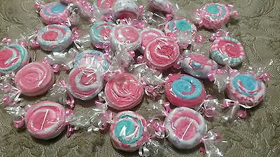 Lot of 6 Candy Washcloth Baby Shower Gift for Girls