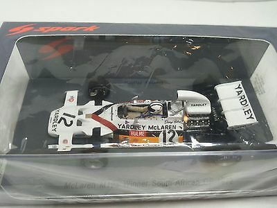 Spark S4292 1/43 F1 Mclaren Ford M19A Denny Hulme winner South African gp 1972