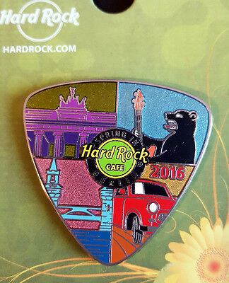 Hard Rock Cafe HRC BERLIN farbenfroher 2016 MULTICOLOR Pin  !