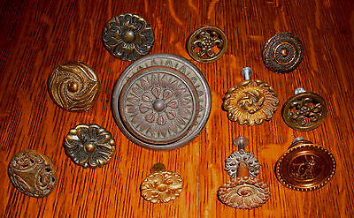 (( #5 )) (( Set Of 12  Knobs Different Designs ))