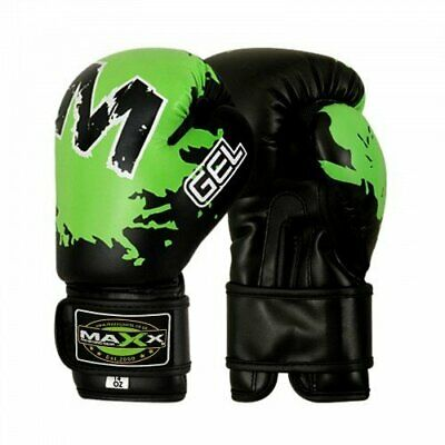 Maxx Leather Curved Focus Pads Hook & Jab Kick Boxing Punch Pad Glove Mma Ufc YS