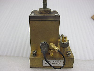COLLINS OSCILLATOR TYP 62L2-MW GOLD PLATED 2 GNz FOR GOLD RECOVERY SCRAP C-6