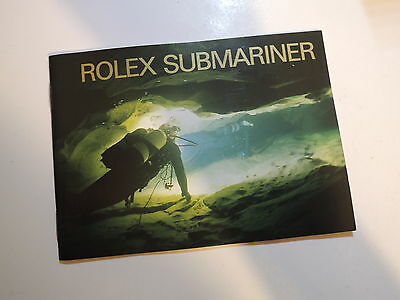 ♛ Authentic R0LEX ♛ 2004 Submariner Watch Manuals & Guides Booklet