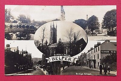 Belper, Multiview, Real Photographic, Unposted