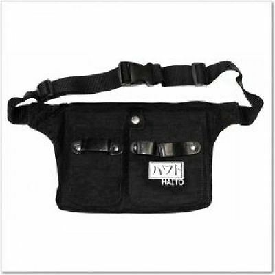 Professional Hairdressing Black Haito Belt Tool Bag Waist Belt