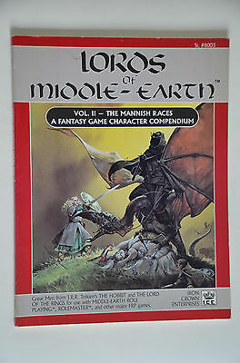 Lords of Middle-Earth vol.II - MERS MERP grosse Sammlung Auflösung - ICE #8003