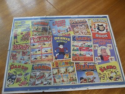 Beano And Dandy Clip Frame Picture