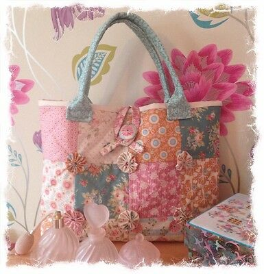 Tilda charm pack bag pattern