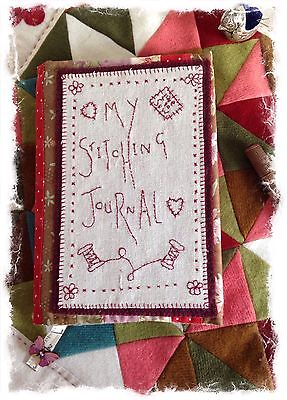 my stitching journal book cover