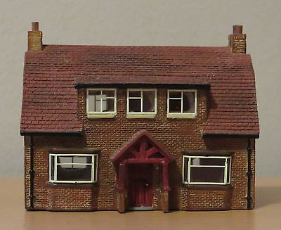 N Gauge Hornby Lyddle End N8061 Crossing Keepers Cottage Used/Excellent/Boxed