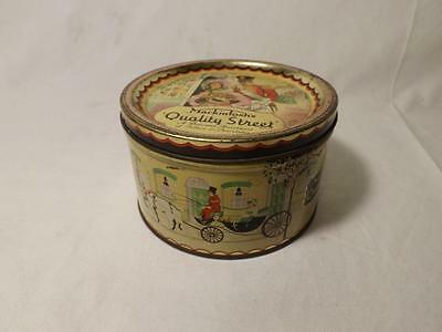 Small : Vintage Quality Street Tin (13cm in Diameter)