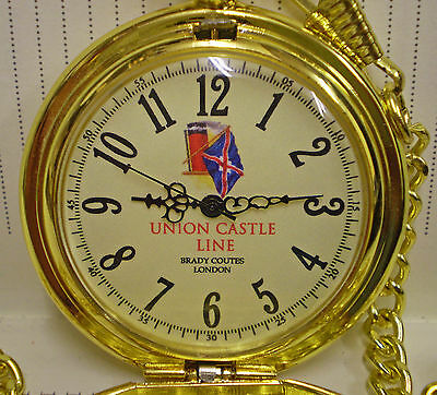 Union Castle Line, Shipping Line,  Gentlemans 1920's styled pocket watch.