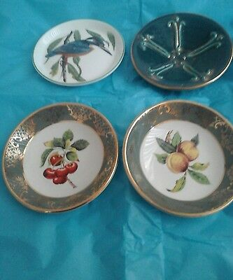 Crown Staffordshire,  royal falcon  jersey pottery  pin trinket dishes